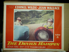 THE DEVIL'S HAIRPIN, orig 1957 LC #5 (Cornel Wilde, Arthur Franz) - auto racing