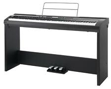 Digital Electric Piano Keyboard Stagepiano Set 88 Keys Stand Pedals EQ Midi USB