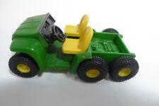 John Deere Gator 6 x 4 ATV ERTL Plastic with Rubber Tires 3 1/8 Inches Long