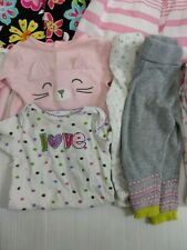 Baby Girl Clothes 6-9 Months 7 Piece Lot