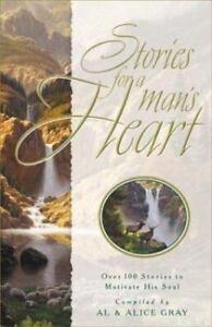 Stories for a Man's Heart Gray Abridged Audio Cassettes