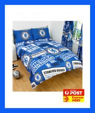 CHELSEA FC FOOTBALL CLUB fits QUEEN bed QUILT DOONA SET NEW