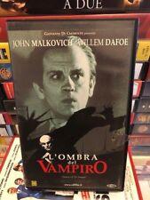 VHS L'OMBRA DEL VAMPIRO JOHN MALKOVICH WILLEM DAFOE EX NOLEGGIO