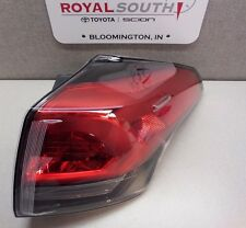 Toyota Rav4 2016 Right Rear Outer Tail Light Lamp Genuine OEM OE