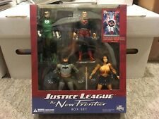 Justice League The New Frontier Box Set Figure Superman Batman Wonder Woman