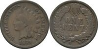 Cent Indianerkopf 1879 USA #Z517