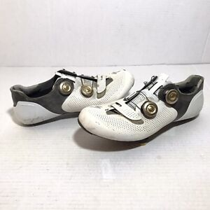 Specialized S-Works 6RD Womens 10.5 Boa Lace Cycling Shoes Bicycle White Gold