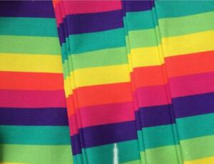 Slant Striped Rainbow Pattern*Tailor Made cover only*WITH PIPING*custom size*Ak3