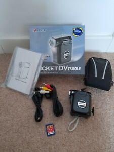 AIPTEK PocketDV T300LE Digital Pocket Camcorder - Black
