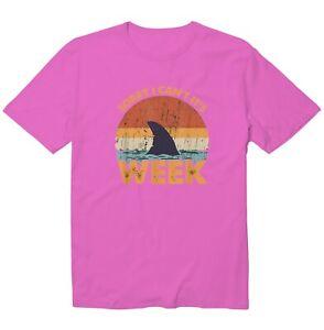 Sorry I Can't It's SHARK Week Shark Lives Matter Unisex Kid Youth Tee T-Shirt