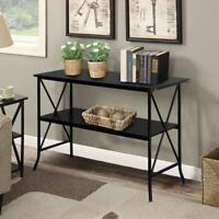Multifunctional Console Table Sofa Table Hallway Side Table with 2 Storage Shelf