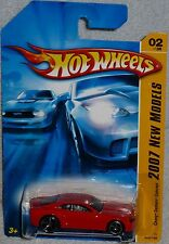 2007 HOT WHEELS New Models Chevy Camaro Concept #002/180 Red HTF