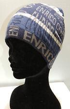 Cappello cuffia berretto unisex hat ENRICO COVERI a.MC1318C col.blu Italy