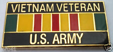 ** VIETNAM VETERAN US ARMY ** Military Veteran Hat Pin 15627 HO