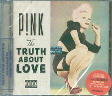 PINK THE TRUTH ABOUT LOVE SEALED CD NEW 2012
