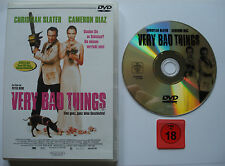 VERY BAD THINGS   __  Christian Slater + Cameron Diaz  __  FSK 18 DVD