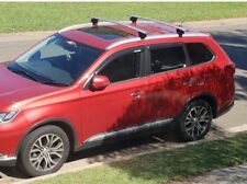 Weather Shields Window Visors Tinted for Mitsubishi Outlander 12-15