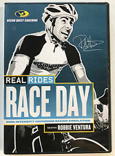 Real Rides Race Day with Robbie Ventura DVD *Very Good* *Free Shipping*