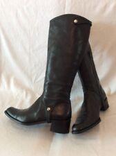 Stuart Weitzman Black Knee High Leather Boots Size 3.5