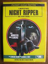 NIGHT RIPPER (1986) (Region B Blu-Ray/DVD) FILMART GIALLO EDITION - BRAND NEW!!!