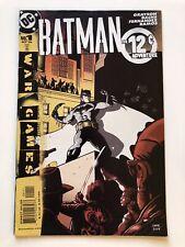 Batman War Games #1 DC Comics