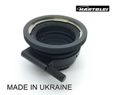 Hasselblad V Lens to Mamiya 645 Mount Camera Adapter Tilt function 6°-Hartblei