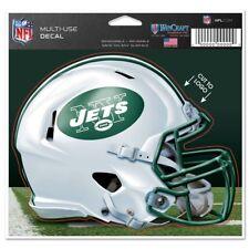 "New York Jets Wincraft NFL Helmet 4.5"" x 5.75"" Multi Use Decal FREE SHIP!"
