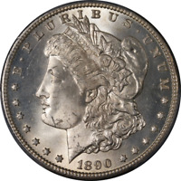 1890-CC Morgan Silver Dollar PCGS MS63 Bright White Great Eye Appeal