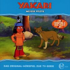 CD * YAKARI - FOLGE 31 - WEISSE PFOTE -  HÖRSPIEL ZUR TV-SERIE  # NEU OVP &