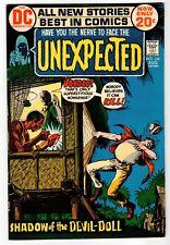 Dc - Unexpected #138 - Wood Art - Vg Aug 1972 Vintage Comic