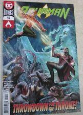 Dc Universe #59 Aquaman Brand New Unread Was $3.99 Throwdown For The Throne