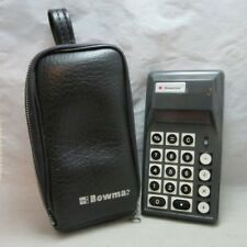 Vintage Bowmar Calculator with pouch. NEEDS power cord