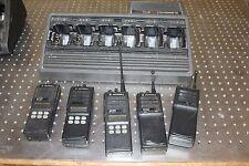 MOTOROLA MTS2000 SET OF 5 RADIOS WITH CHARGER  FLASHPORT