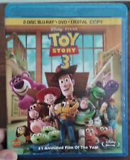 Toy Story 3 Blu-Ray Disney Pixar Movie FREE SHIPPING US Version Animated Film