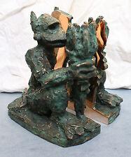 Jörg Immendorff museale Rarität Bronze Alter Ego zweiteilige Skulptur Zertifikat