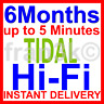 TIDAL HiFi Master || Family 6 Users 6 M0nths || BUY WITH CONFIDENCE | FAST 5 min