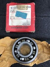 Honda NOS crankshaft crank main bearing XR75 XR 75   91001-116-008