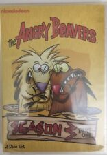 New: THE ANGRY BEAVERS-Season 3,Part 1 (2-DVD Set)RARE VINTAGE-SHIP N 24 HOURS