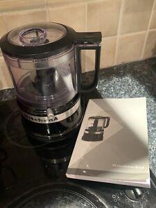 KitchenAid 5KFC3516 Mini Food Processor - Onyx Black - Excellent Used Condition