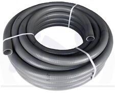 Flexibles PVC - Rohr 12m Klebeschlauch Pool Teich Schlauch Flexschlauch Poolflex