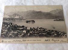 Vintage 1908 Postcard. Stresa, Italy. Posted