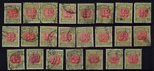 Australia selection of good used 1938 postage dues
