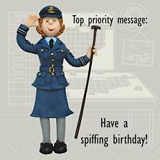 WAAF Royal Air Force History Buff Blank Mother Mum Sister Aunt Birthday Card