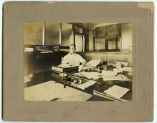 VINTAGE INDUSTRIAL CONSTRUCTION BUSINESS OFFICE:  Lumber Company Office Photo