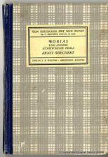 Tobias e altri selezionato prosa V. Ernst Wiechert 1942 EA
