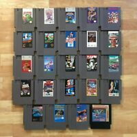 Lot of 24 Nintendo Entertainment System NES Games | Great Condition | Used | C11