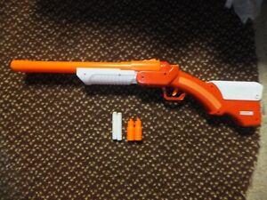 The Walking Dead Rick's Shotgun Double Barrel Dart Blaster Gun
