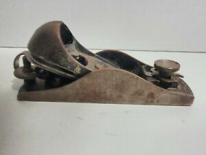 Vintage Stanley No 9 1/2 Block Plane #9.5 Made In USA