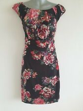 Vestido Recto Estampado Floral de Mango, talla XL