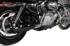 Terminali Scarichi Marmitte Dragpipe Drag Pipe Nere Sportster Forty Eight 48 LOW